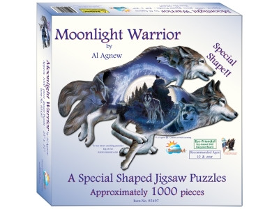 MOONLIGHT WARRIOR *Shaped*