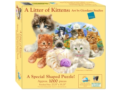A LITTER OF KITTENS *Shaped*