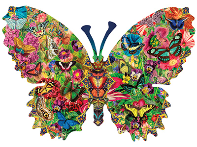 BUTTERFLY MENAGERIE *Shaped*