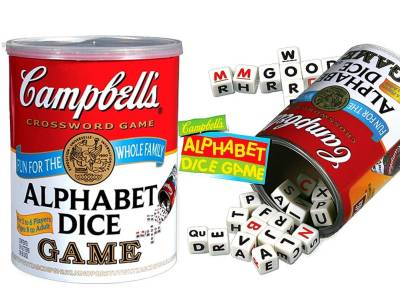CAMPBELL'S ALPHABET DICE