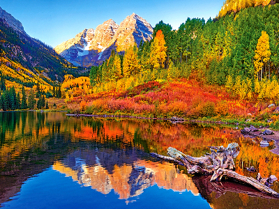 MAROON LAKE,ASPEN,COL 1000pc
