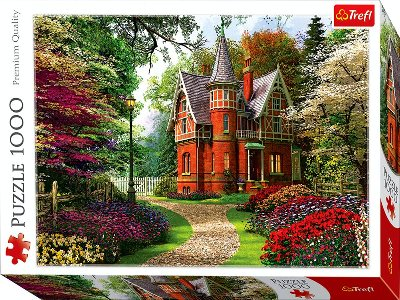 VICTORIAN COTTAGE 1000pc