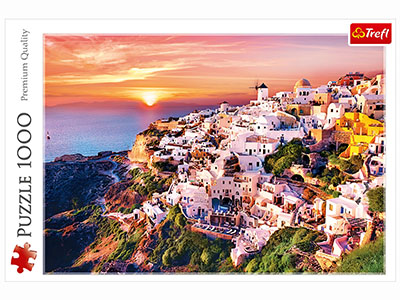 SUNSET OVER SANTORINI 1000pc