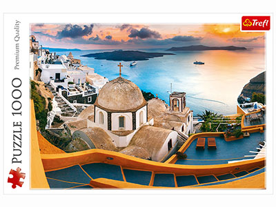 FAIRYTALE SANTORINI 1000pc