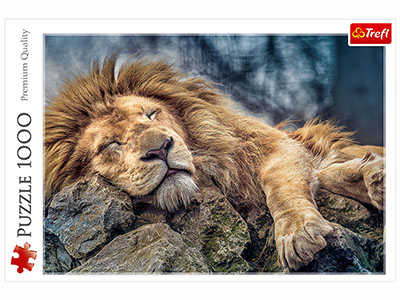 SLEEPING LION 1000pc