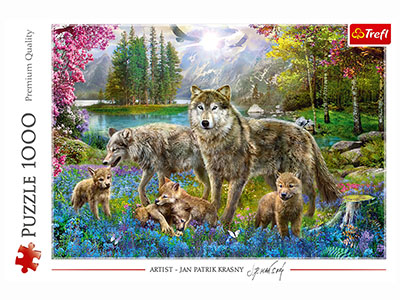 LUPINE FAMILY 1000pc