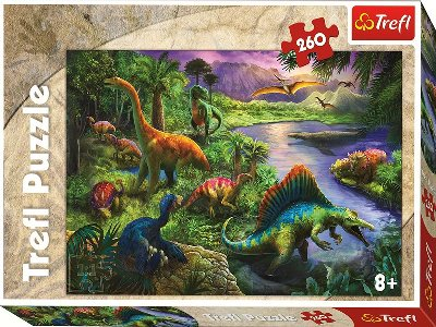 DINOSAURS 260pc (Large Pieces)