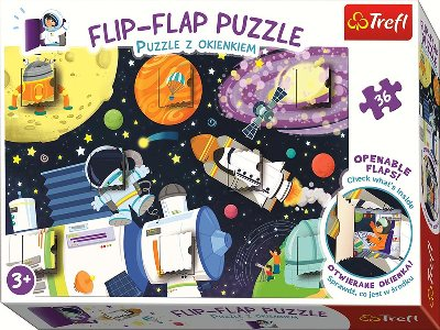 FLIP-FLAP 36pc OUTER SPACE