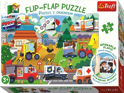 FLIP-FLAP 36pc TRANSPORT