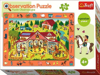 OBSERVATION 70pc FARMYARD