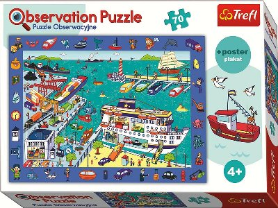 OBSERVATION 70pc HARBOUR VISIT