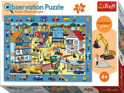 OBSERVATION 70pc CONSTRUCTION
