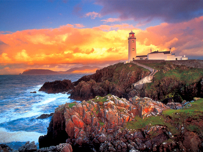 FANAD HEAD LHOUSE,IRELND 1500p