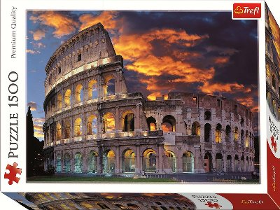 THE COLLOSSEUM,ROME 1500pc