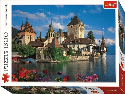 THE OBERHOFEN CASTLE 1500pc