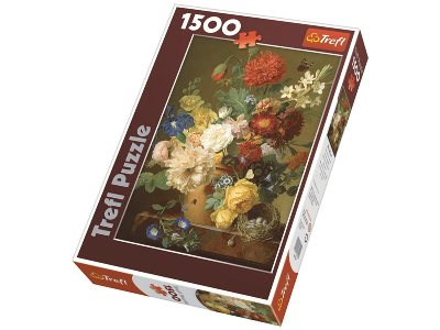 STILL LIFE WITH FLOWERS 1500pc