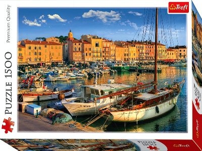 OLD PORT IN ST TROPEZ 1500pc
