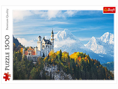 BAVARIAN ALPS 1500pc