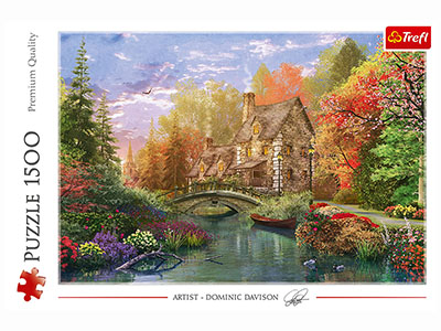 COTTAGE BY THE LAKE 1500pc