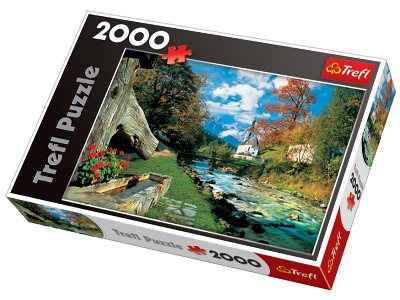 BAVARIAN ALPS,GERMANY 2000pc