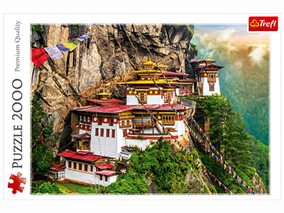 BHUTAN TIGER'S NEST 2000pc