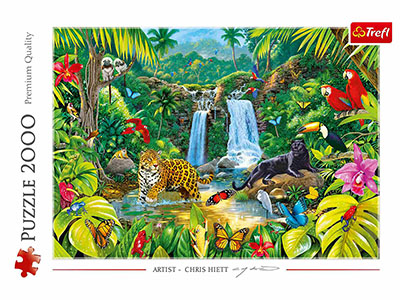 TROPICAL FOREST 2000pc