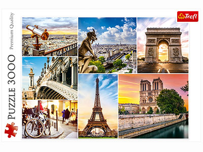MAGIC OF PARIS COLAGE 3000pc