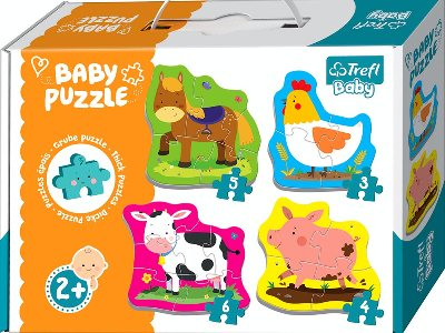 BABY PUZZLE LITTL.FARM ANIMALS