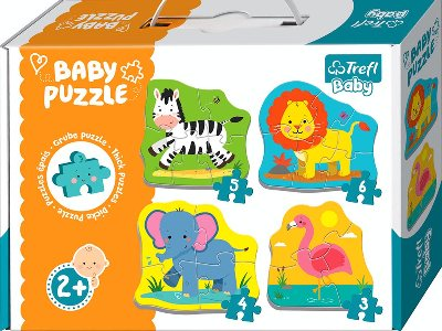 BABY PUZZLE SAFARI ANIMALS