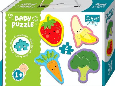 BABY PUZZLE FRUIT & VEGETABLES