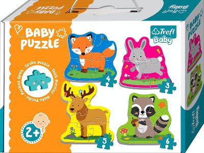 BABY PUZZLE FOREST ANIMALS