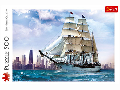 SAILING TOWARDS CHICAGO 500pc