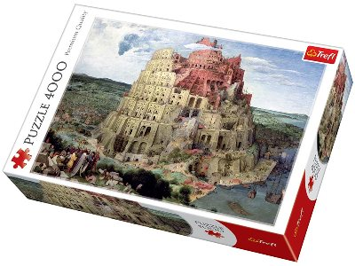 THE TOWER OF BABEL 4000pc