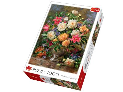 FLOWERS FOR THE QUEEN 4000pc