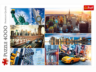 NEW YORK CITY COLLAGE 4000pc