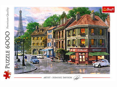 STREET OF PARIS 6000pc