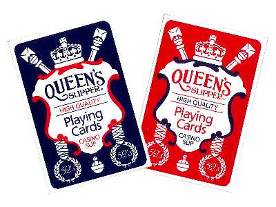 QUEEN'S SLIP 52s PLAYING CARDS