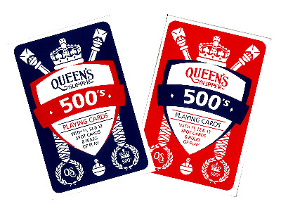 QUEEN'S SLIPPER 500's CARDS