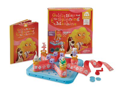 GOLDIE BLOX SPINNING MACHINE