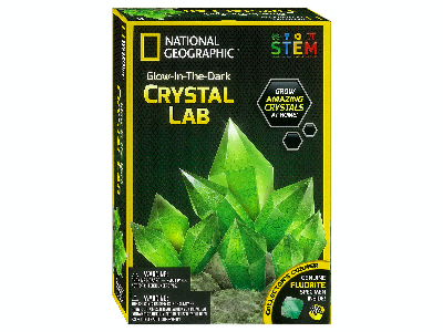 GLOW-IN-THE-DARK CRYSTAL LAB