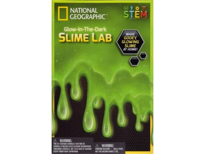 GLOW IN THE DARK SLIME LAB