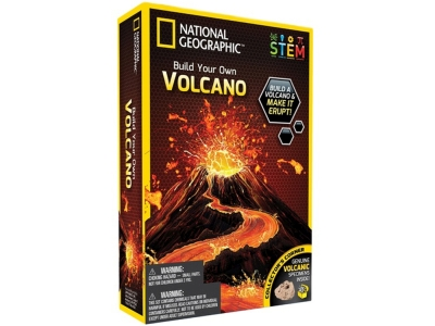 BUILD YOUR OWN VOLCANO