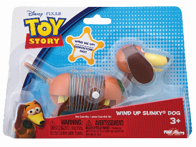 WIND-UP SLINKY DOG TOY STORY