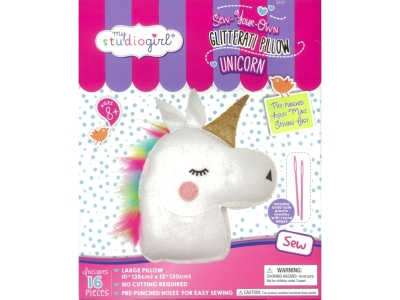 SEW-YOUR-OWN UNICORN PILLOW