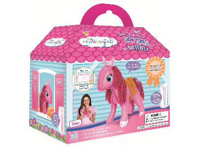 SEW-YOUR-OWN PONY BUTTERFLY