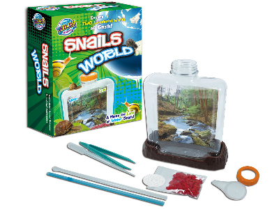 WILD SCIENCE SNAIL WORLD