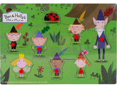 BEN & HOLLY'S ELVES PIN PUZZLE