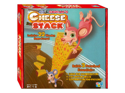 CHEESE STACK GAME