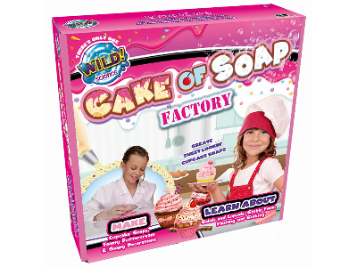 WILD SCIENCE CAKE OF SOAP FACT