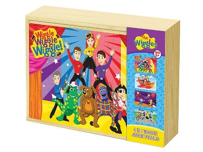 WIGGLES 4-in-1 WOODEN PUZZLES